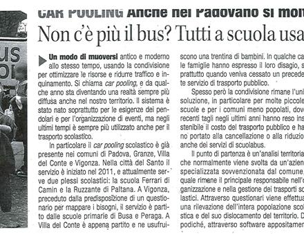 Articolo car pooling Scolastico Padova_27-11-2012_r1_c1
