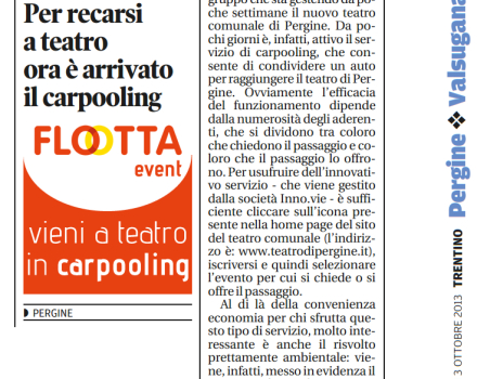 articolo-flootta-trentino-pergine-teatro-carpooling