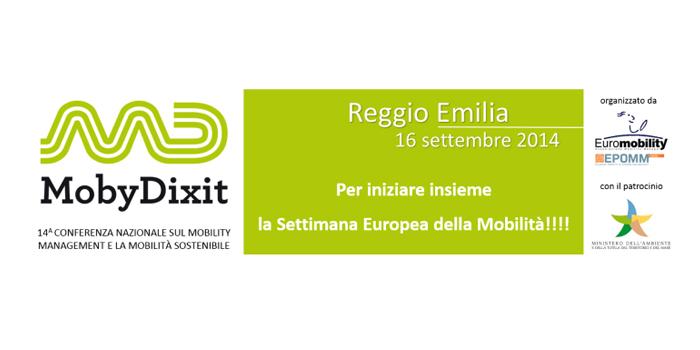 Innovie è sponsor ufficiale di MobyDixit 2014: conferenza nazionale Mobilità sostenibile e Mobility management